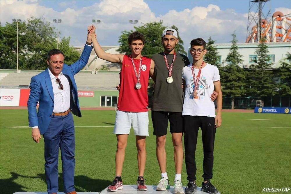 Ergene Belediyesi Atletizm Sporcuları Madalyaya Doymuyor